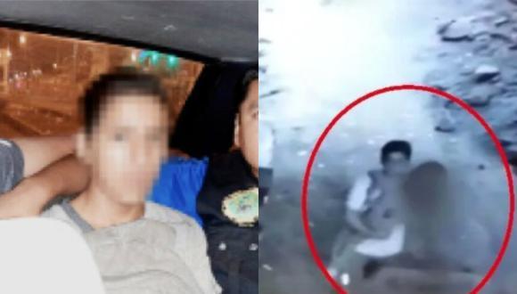 Menor que violó y asesinó a niña en Independencia recibió paliza en Maranguita.