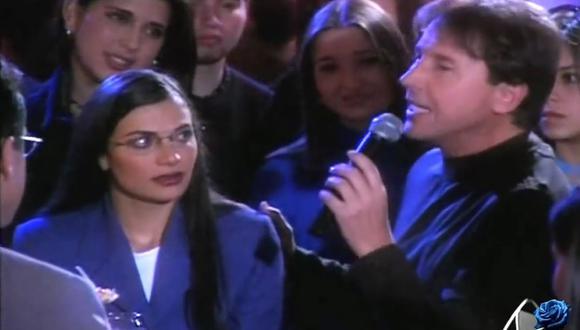La vez que Ricardo Montaner le dedicó una canción a Betty para que perdone a Armando (Foto: RCN)