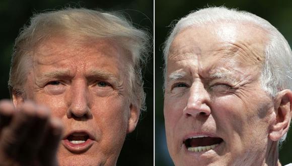 Elecciones EE.UU.: Joe Biden le saca 9 puntos de ventaja a Donald Trump. (AFP)