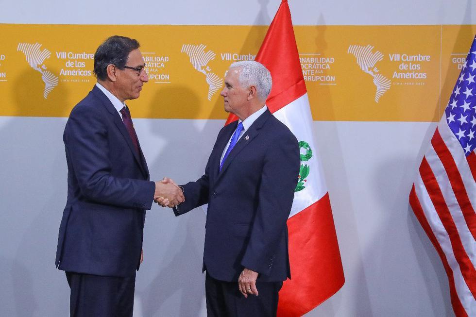 Vizcarra - Estados Unidos (Presidencia)