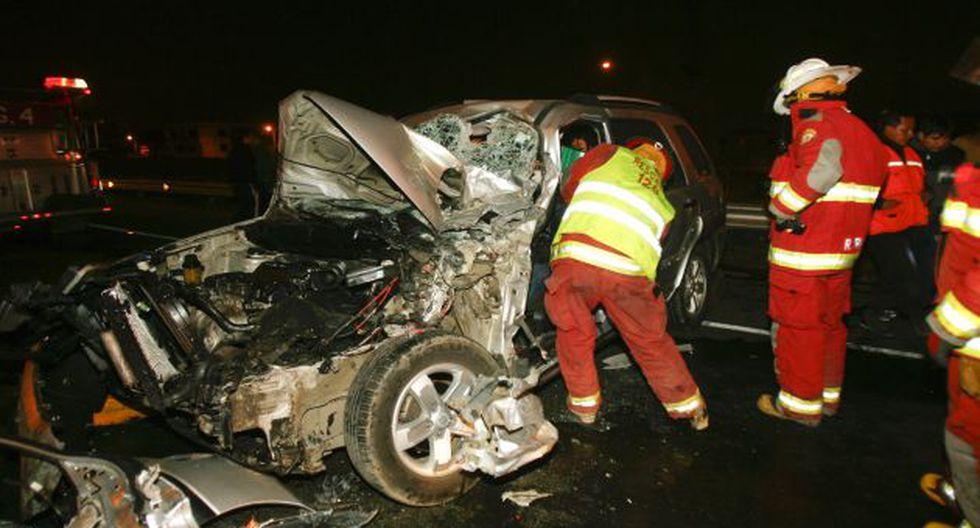 Conductores no toman conciencia y a diario protagonizan trágicos accidentes en la capital. (USI)