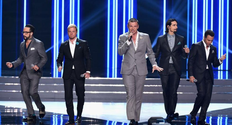 Backstreet Boys reaparecieron con una emotiva presentación en el Miss USA 2016. (AFP)