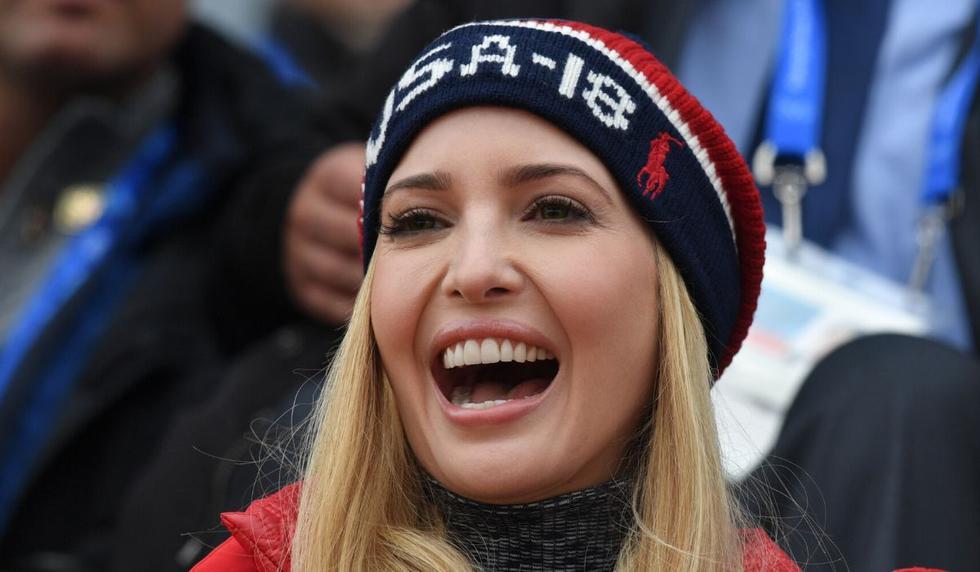 Ivanka Trump asombró a muchos internautas con su publicación. (AFP)