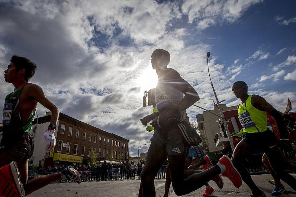 Maratón de Nueva York: Wilson Kipsang se coronó en la categoría masculina. (Reuters)