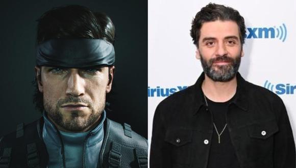 """Oscar Isaac interpretará al emblemático soldado Solid Snake en la adaptación al cine del videojuego """"Metal Gear Solid"""". (Metal Gear/Foto: AFP)"""