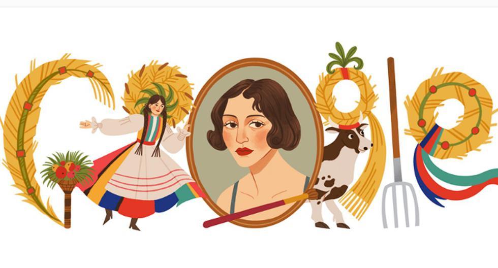 Zofia Stryjeńska, experta en trajes folclóricos y mitología eslava, expresó el amor por su herencia en trabajos que iban desde piezas de ajedrez de madera hasta trajes de ballet. (Foto: Google)