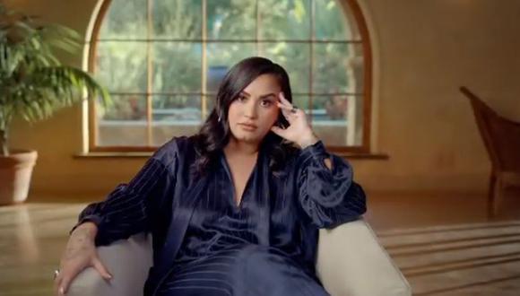 Demi Lovato anuncia la fecha de estreno de su nuevo documental que se podrá ver gratis en YouTube. (Foto. Captura)