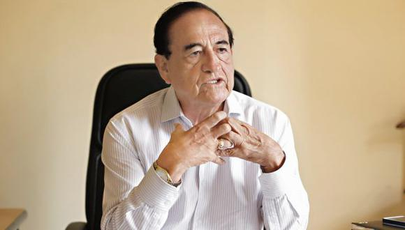 Aureo Zegarra cuestionó los adjetivos que Fernando Cilloniz lanzó en su contra. (Foto: Mario Zapata / GEC)