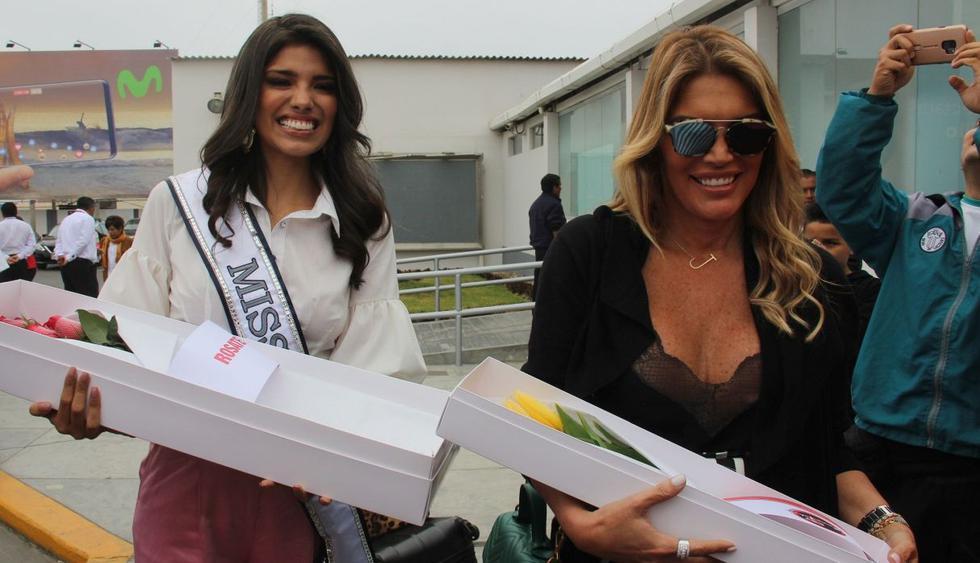 Jessica Newton se pronuncia tras difusión de polémico video de la Miss Perú 2019, Anyella Grados. (Foto: GEC)