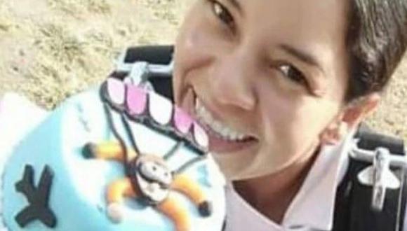 Ocurrió en Colombia. Luisa María Jansajoy Peña cayó sentada y no sintió más su piernas. (Facebook)