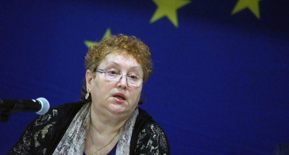 Renate Weber refirió, no obstante, que puede resultar problemático excluir a candidatos presidenciales (Andina).