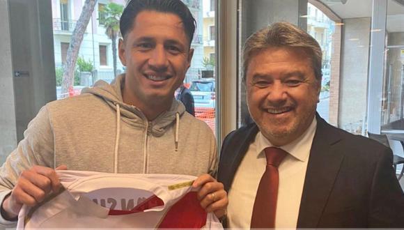 Gianluca Lapadula ya está en Lima y se unirá a los entrenamientos con la selección peruana mañana. (FOTO: Perú 21)