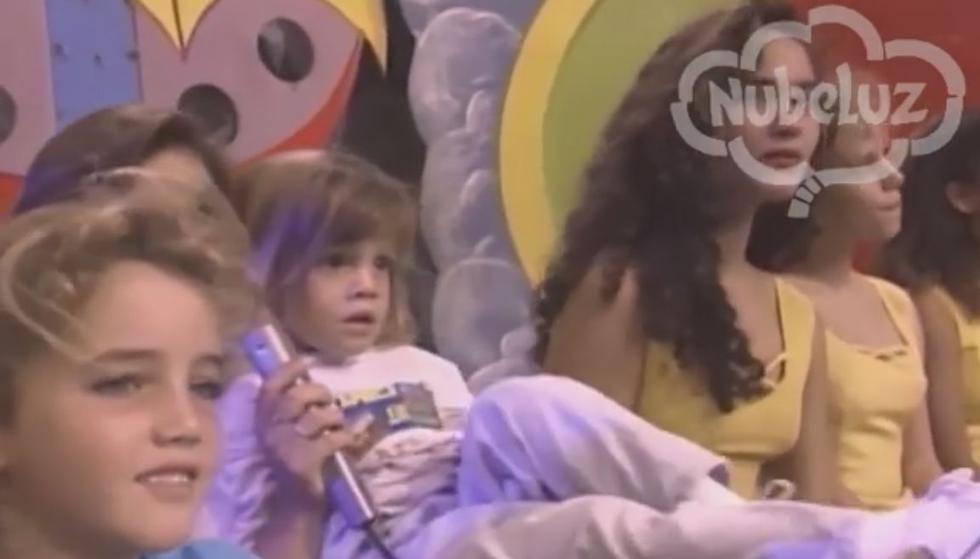 Alejandra Baigorria tiene 29 años y ha causado gran ternura tras aparecer en un video de Nubeluz cuando era niña. (Facebook Nubeluz)
