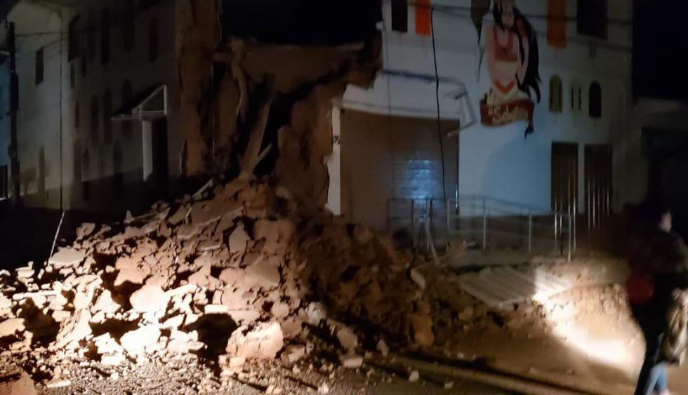Un terremoto de 7.5 grados se registró a las 02:41A.M.(MININTER)