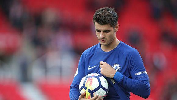 Álvaro Morata ha disputado 2 partidos en la Champions League y anotó un gol. (Getty Images)
