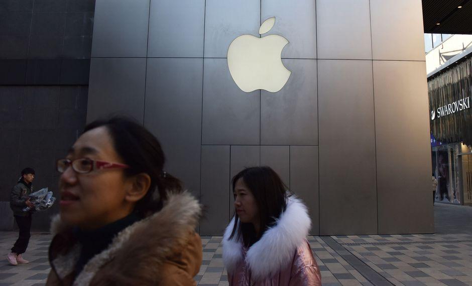 La inusual advertencia de Apple sugiere que venderá menos iPhones y otros artículos debido en parte a la guerra comercial entre EE.UU. y China. (Foto: AFP)