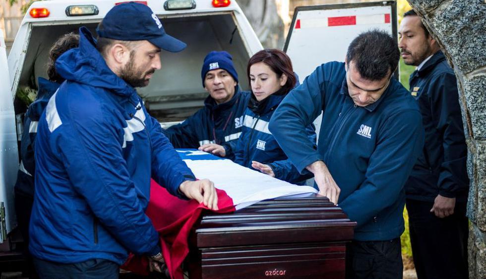 Pablo Neruda: Sus restos fueron trasladados a su última sepultura en Isla Negra. (EFE)