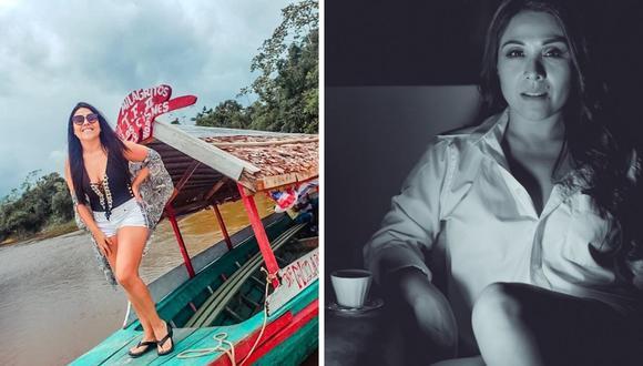 """La presentadora de televisión Tula Rodríguez confesó en sus redes sociales el difícil momento que vivió a causa del COVID-19 y la salud de su hermana. """"Junio al fin. Mayo fue un mes complicado para mi familia"""", comenzó en su cuenta de Instagram.  (@tulaperu)."""