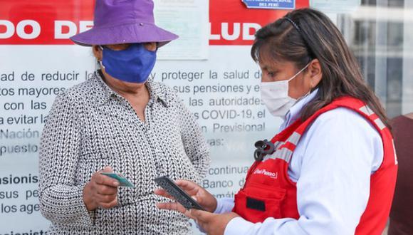 El Bono Familiar Universal se entregó a las familias en situación de pobreza del país, golpeadas por el COVID-19 (Foto: Midis)