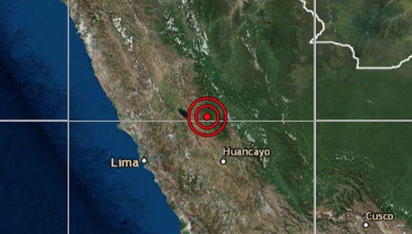 El sismo ocurrió a una profundidad de 117 km, reportó el IGP. (Foto: IGP)