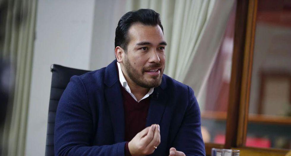 "El alcalde de La Molina, Álvaro Paz de la Barra, reiteró que la comuna capitalina debe ""empoderar"" a sus distritos. (Foto: GEC)"