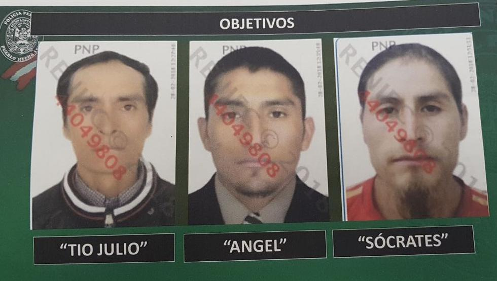Sendero Luminoso: Presuntos senderistas fueron trasladados a Lima tras su captura. (MINDEF)