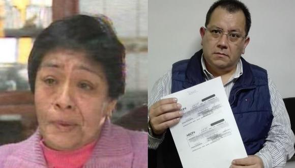 Digna Rufina Abtao denunció a empresario César Nepo.