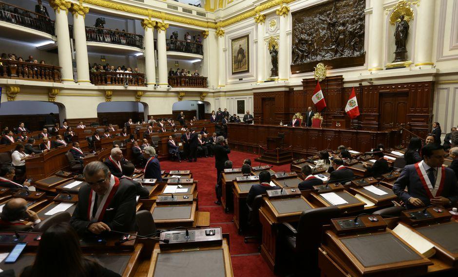 Esta mañana 26 congresistas de Fuerza Popular suscribieron un acuerdo para aprobar las cuatro reformas constitucionales presentadas por el Ejecutivo antes de 4 de octubre.(Foto: USI)