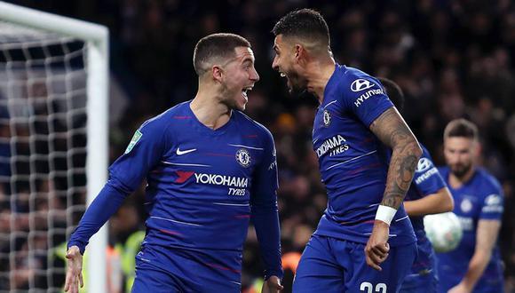 De la mano de Eden Hazard, Chelsea busca un nuevo triunfo en la Premier League. (Foto: Facebook Chelsea FC)