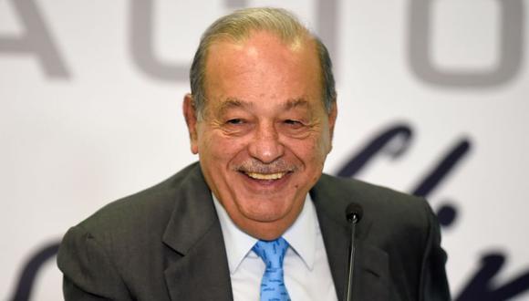 El magnate mexicano Carlos Slim sale del hospital tras contagio de coronavirus. (AFP/ALFREDO ESTRELLA).