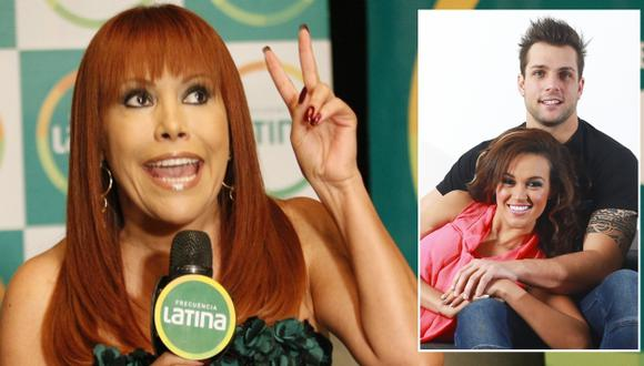 Magaly Medina criticó que Nicola Porcella siga grabando en 'Ven, baila, quinceañera'. (USI)
