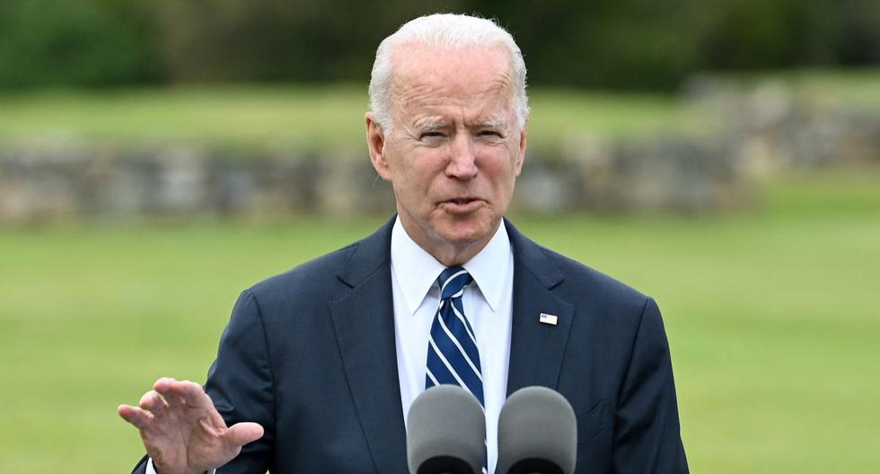 Imagen del presidente de Estados Unidos, Joe Biden. (Foto: Brendan SMIALOWSKI / AFP).
