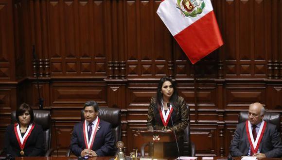 Con susto. Ana María Solórzano ganó con las justas y deberá demostrar la independencia de poderes que prometió en su discurso. (Luis Gonzales)