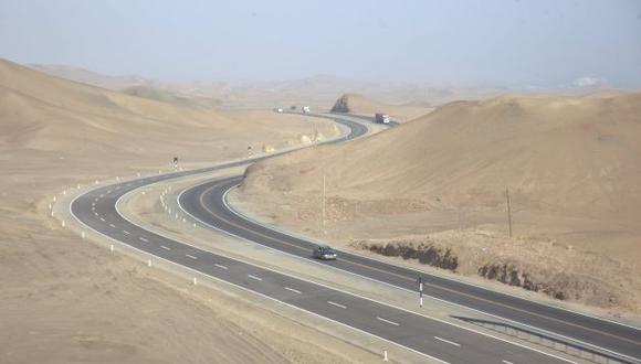 Las inversiones en concesiones de red vial aumentaron 47.5%, según Ositran. (USI)