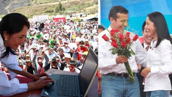 Nadine Heredia se ha visto constantemente expuesta a diversas acusaciones por parte de la prensa y otros partidos políticos, desde el inicio del mandato de Ollanta Humala. (Facebook / Nadine Heredia / Ollanta Humala Tasso)