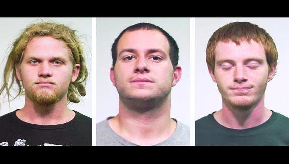 Fueron detenidos a mediados de la semana en una requisa de viviendas. (AP)