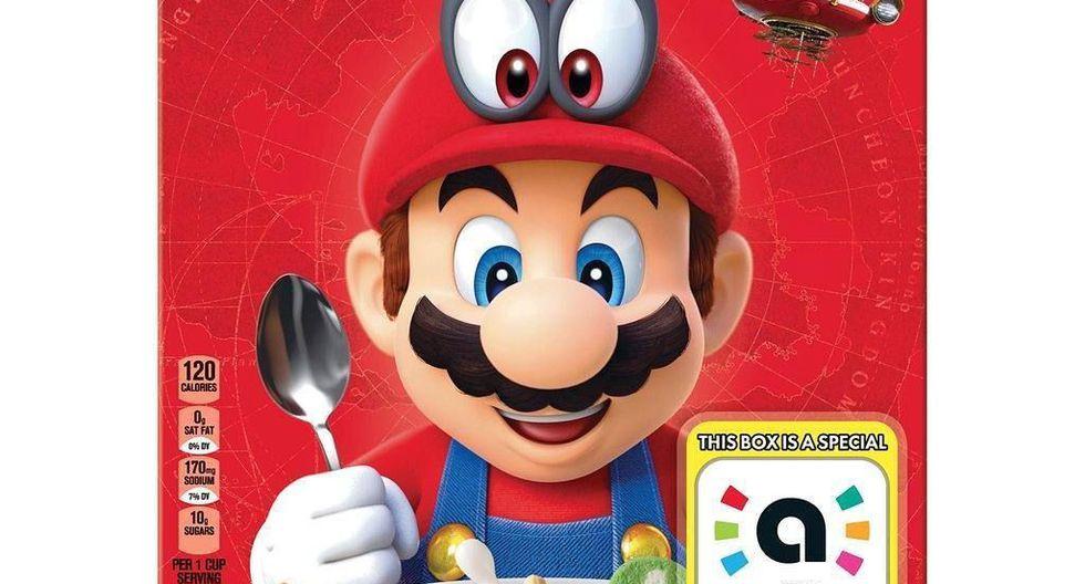 Nintendo y Kellogg's se habrían aliado para lanzar el 'Super Mario Cereal'. (Cerealously)