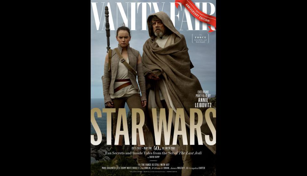 'Star Wars': Reparto de 'The Last Jedi' en portada de Vanity Fair [FOTOS]