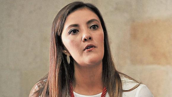 Yamila Osorio. Única gobernadora regional en el Perú. (Perú21)