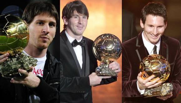 El argentino recibió también el galardón en 2010 y 2009. (AP)
