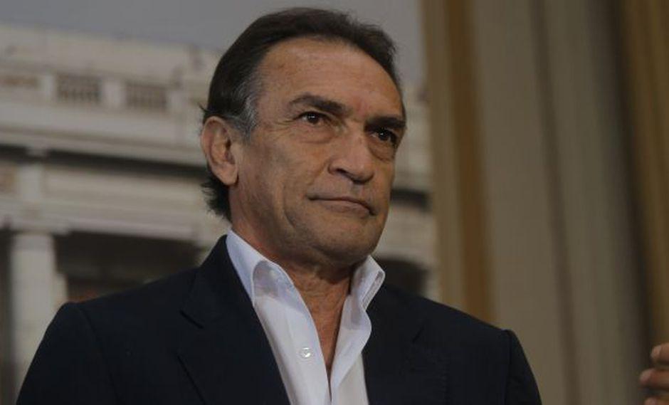 Héctor Becerril responde ataque de Pedro Cateriano sobre informe que implica a Nadine Heredia (David Huamaní)
