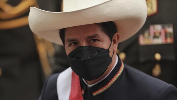 El presidente de la República, Pedro Castillo, anunció hoy que su gobierno asumirá rehabilitación de víctima de violencia sexual. (Foto: Anthony Niño de Guzmán/ @photo.gec)