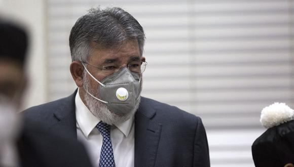Dos senadores, el exdirector de la compañía estatal de aguas y un abogado acusado de ser cómplice de Víctor Díaz Rúa fueron absueltos. (Foto: Erika Santelices / AFP)