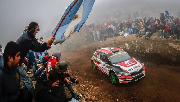 Nicolás Fuchs se coronó campeón del Rally Argentina 2016 en el WRC2. (Twitter DirecTV)