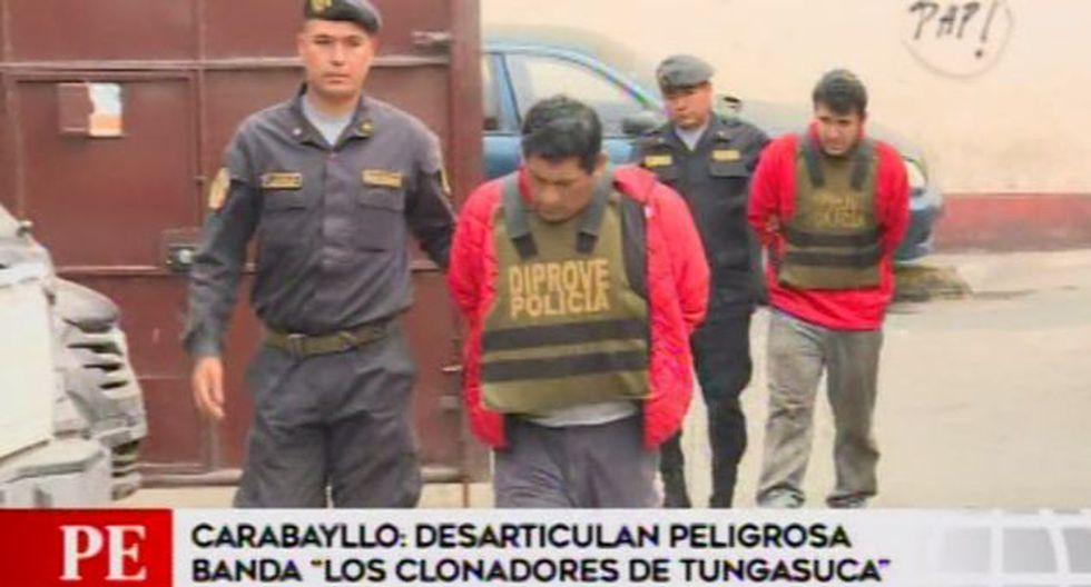 La Policía realiza las investigaciones correspondientes. (Foto: Captura/América Noticias)