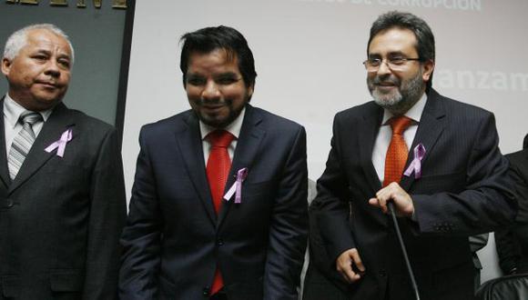 El procurador Julio Arbizu insistirá en pedir la detención de Luis Castañeda Lossio. (Nancy Dueñas)
