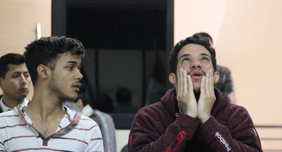 Ambos venezolanos, tanto 'Guasón' como Colina, vienen rindiendo sus testimonios y detalles de lo ocurrido el día del doble asesinato. (Corte Superior de Justicia de Lima Norte)