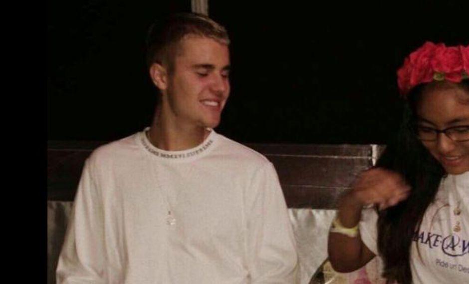 Fanática pudo conocer a Justin Bieber (@JBCGiveaway)