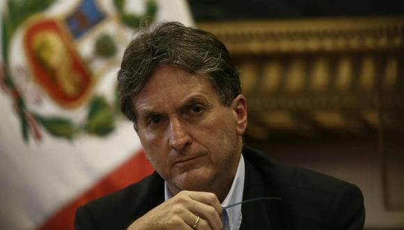 Pablo de la Flor acudió a la comisión multipartidaria del Congreso. (Geraldo Caso)