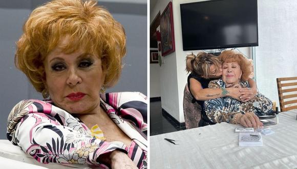 Silvia Pinal aún estará en el hospital hasta que su salud esté totalmente estable. (Foto: Instagram @silvia_pinal_h)